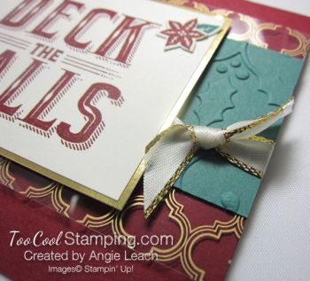 Carols of Christmas Metallic Accents - cherry gold 4