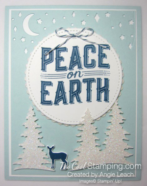 Carols of Christmas Peace on Earth Dazzling - sky 1