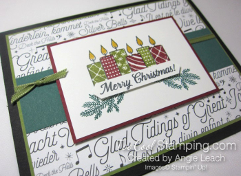 Two Step Candles - olive 2