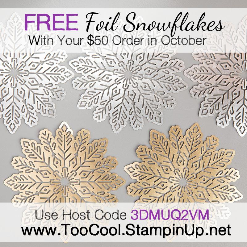 Foil snowflakes 3 144642G