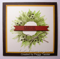 Painted harvest wreath 3x3 - peggy tassler