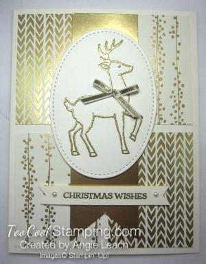 Bundle of Love Elegant Christmas - reindeer