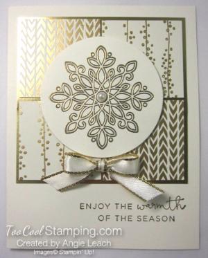 Bundle of Love Elegant Christmas - snowflake b
