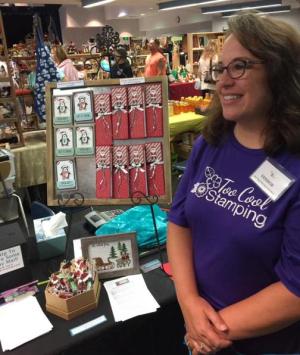 Deer Ridge Craft Fair Angie booth
