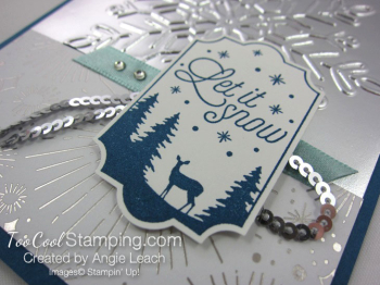 Year of Cheer Metallic Snowflakes - silver 4