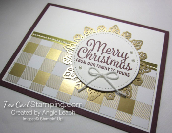 Snowflake sentiments year of cheer - fig 2