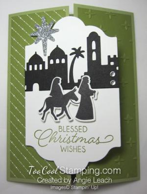 Night In Bethlehem gate fold - olive