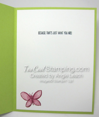Watercolor wings in color cards - lime 4