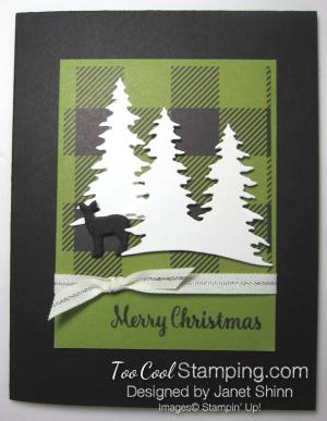 Janet Merry Little Christmas Deer In Woods