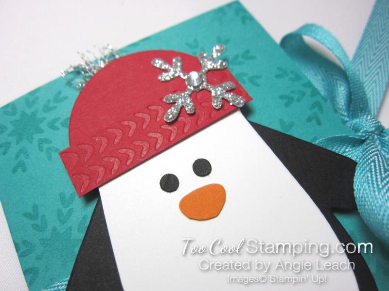 Many mittens penguin gift card holder - bermuda 3