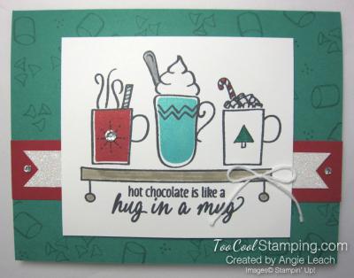 Hug in a mug - emerald