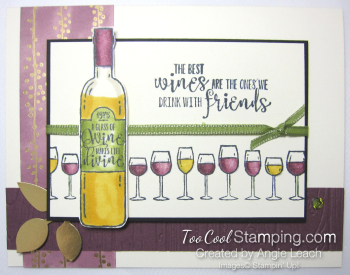 Wine & friends cards - with friends 1