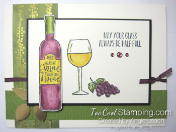 Wine & friends cards - half full 1