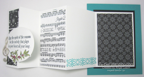 Musical season pull out panel card - bermuda 4