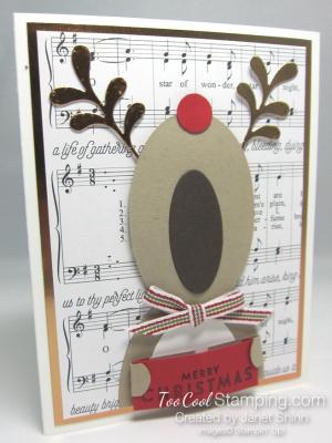 Janet - Merry Music Caroling Reindeer