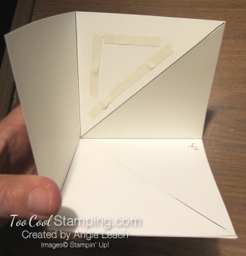 Special Delivery Corner Pop-Up Card - base 4