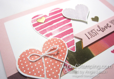 Heart happiness floating hearts - powder pink 3