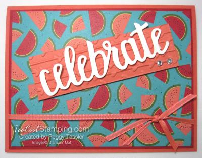 Tutti frutti celebrate you - watermelon