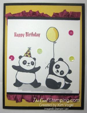 Party pandas two - kim vogel