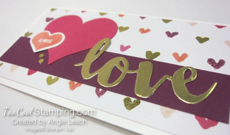 Sure do love you narrow notes - love 2