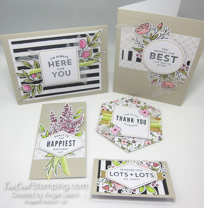 Lots of happy cards