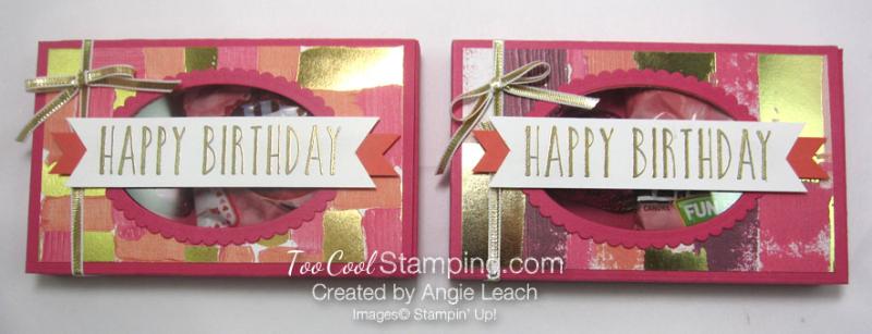 Lots to love birthday window box - two cool