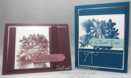 Heartfelt Blooms - two cool