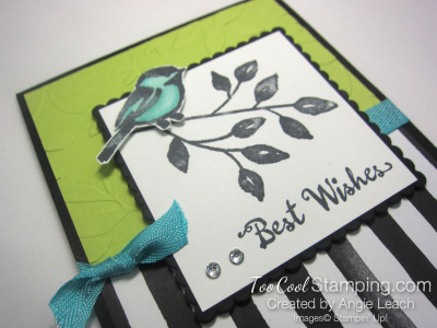 Petal Palette bird - lime 2