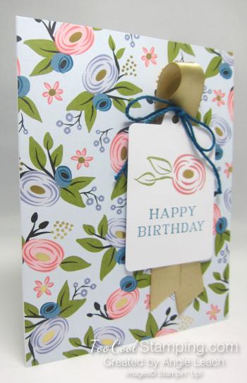Perennial birthday kit - soft sky blooms