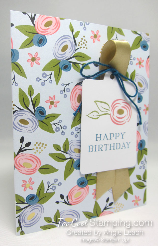 Perennial birthday kit - soft sky blooms