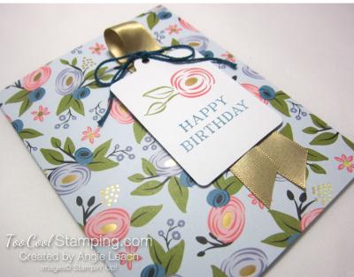 Perennial birthday kit - soft sky blooms 2
