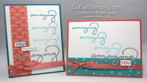 Amazing you ombre - two cool