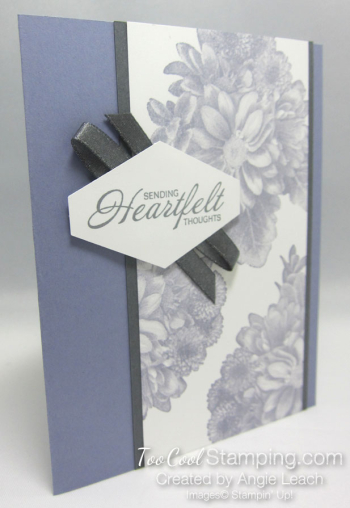 Heartfelt tailored tag - wisteria
