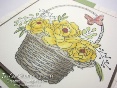 Blossoming basket bundle - daffodil 2
