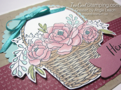 Blossoming basket banner - sugarplum 3