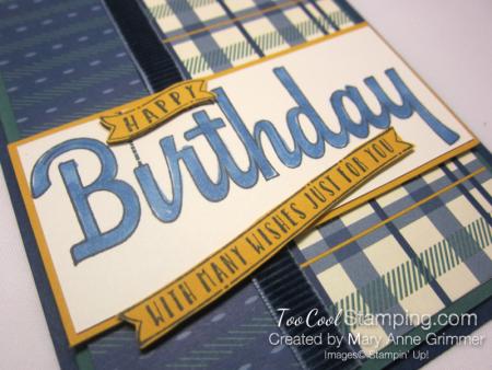 Happiest of Birthdays True Gentleman 2 - Grimmer