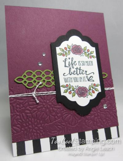 Lots of Lavender Lifes Better - rich razzleberry