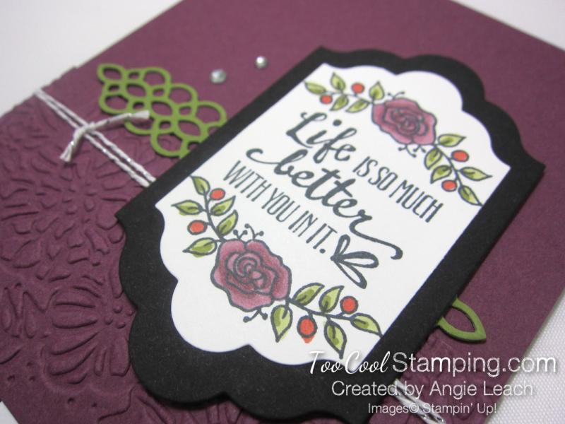 Lots of Lavender Lifes Better - rich razzleberry 3