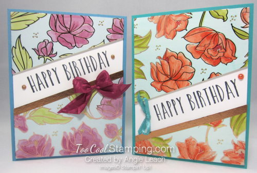 Springtime foils blends resist birthday - two cool
