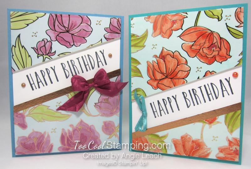 Springtime foils blends resist birthday - two cool