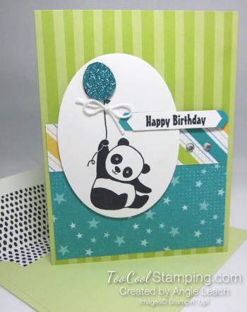 Party panda tutti frutti - lemon lime twist