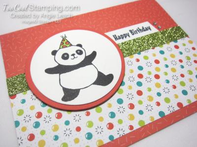 Party panda tutti frutti - calypso coral 2