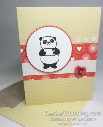 Party panda tutti frutti - daffodil delight