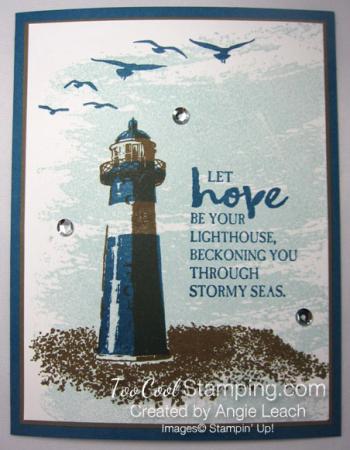 Dapper denim lighthouse