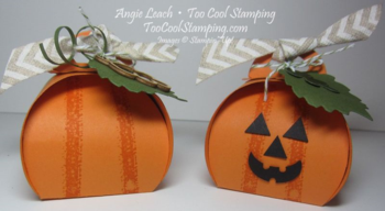 Curvy keepsakes pumpkins - two cool