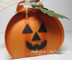 Curvy keepsakes pumpkins - jack