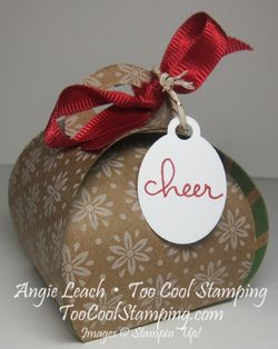 Curvy keepsakes under tree - craft