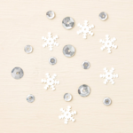 Frosted sequins 135835G