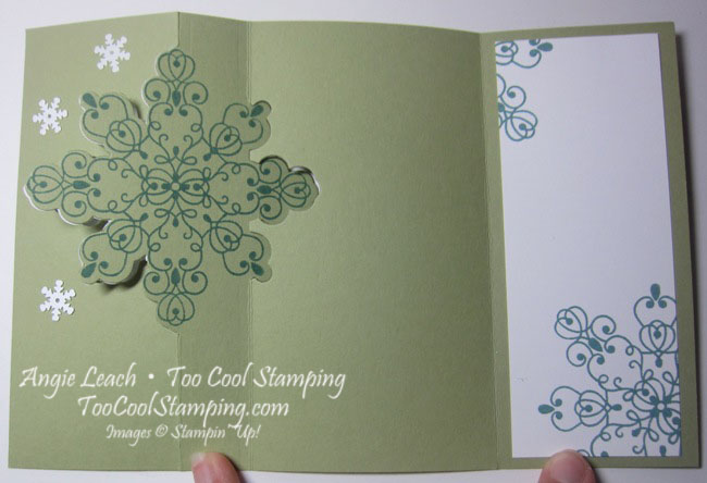 Snowflake flip - lagoon 6