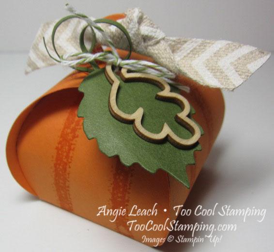 Curvy keepsakes pumpkins - plain